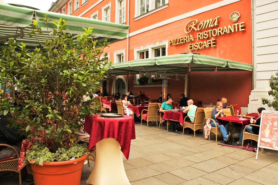 Restaurant Roma Außen
