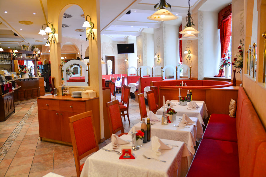 Restaurant Roma Gastraum